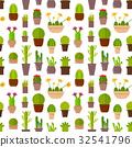 仙人掌 植物 壺 32541796