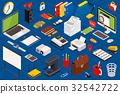 icon, isometric, illustration 32542722