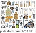 kitchen, vector, food 32543013