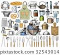 厨房 矢量 矢量图 32543014