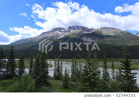 加拿大洛基山脉 落基山脉 落基山 32544335