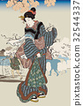 Utagawa Kuniyoshi Sumidagawa No Asami圖像例證 32544337