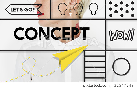 Creative Thinking Creativity Inspiration Concept 32547245