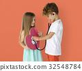Little Children Heart Stethoscope Doctor 32548784