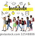 School Institute Study Learning Concept 32548806