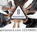Paper Clip Mail File Attachment Graphic 32548881