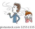 담배를 피우는 남성 32551335