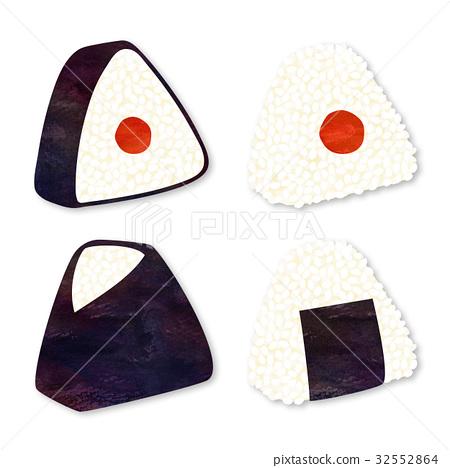 rice ball, variation, japanese food 32552864