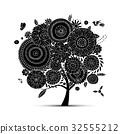 Floral tree for your design 32555212
