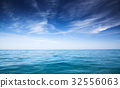 background of perfect sky and water of ocean 32556063
