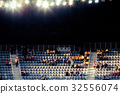blurred crowd of people in a stadium 32556074