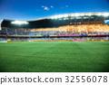 stadium arena soccer field defocused background 32556078