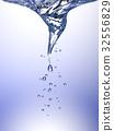 Whirlpool in blue water 32556829