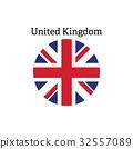 United Kingdom flag icon 32557089