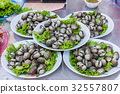 Cockles. Seafood in  Market 32557807
