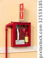 Fire extinguisher and hydrant 32559185