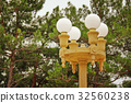 Four vintage street lamps 32560238