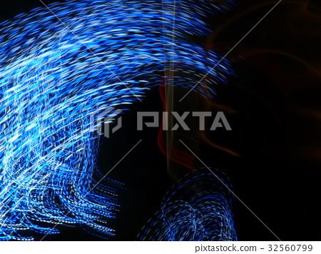 流暢的光線藝術 32560799