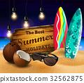 vector, tropical, summer 32562875