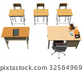 classroom, chair, chairs 32564969