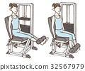 锻炼肌肉 肌肉练习 女性 32567979