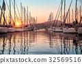 海湾 月桂树 船 32569516