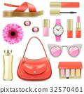 Vector Fashion Accessories Set 7 32570461