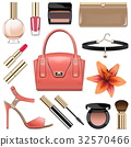 Vector Fashion Accessories Set 9 32570466