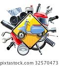 摩托车 小型摩托车 矢量 32570473