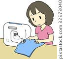 จักรเย็บผ้า,ผู้หญิง,หญิง 32573040