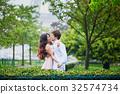 couple human kiss 32574734