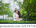 Romantic couple together in Paris 32574738