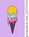 冰 奶油 乳霜 32575241