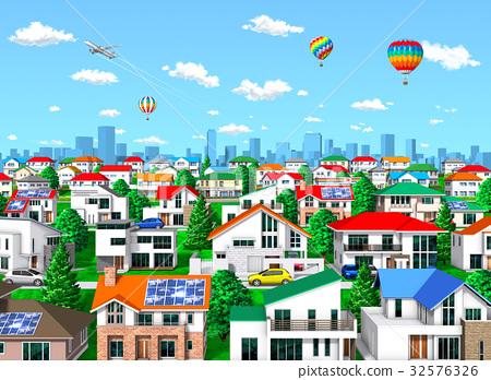 城市 市容 城市风光 32576326