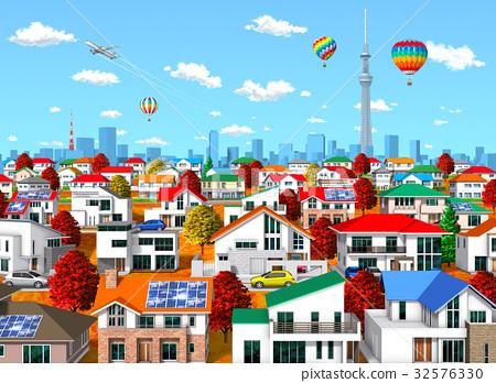 城市 市容 城市风光 32576330