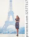 埃菲爾鐵塔 巴黎鐵塔 女性 32577317