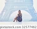 埃菲爾鐵塔 巴黎鐵塔 女性 32577462