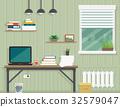 work room interior 32579047