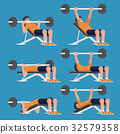 鍛煉 健身 男性 32579358