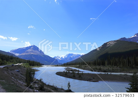 canadian rockies, jasper national park, glacier 32579633