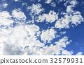 blue sky, early summer, summer 32579931