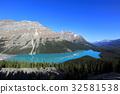 加拿大洛基山脉 佩托湖 班夫国家公园 32581538