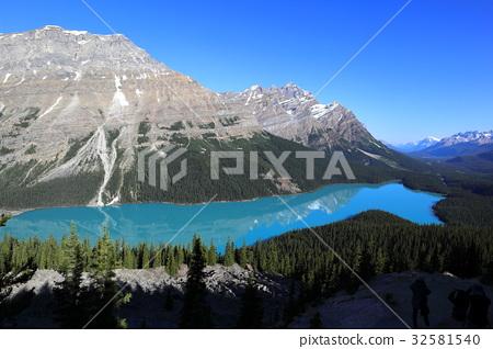 加拿大洛基山脉 佩托湖 班夫国家公园 32581540