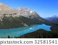加拿大洛基山脉 佩托湖 班夫国家公园 32581541