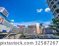 新宿站 西入口 晴朗 32587267