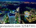 【神奈川县】港未来的夜景 32587301
