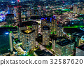 【Kanagawa Prefecture】 Night view of Yokohama 32587620