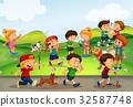 kid, boy, play 32587748