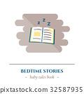 book, sleep, icon 32587935