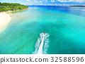 오키나와 세 소코 섬 세 소코 대교에서 본 차창 32588596